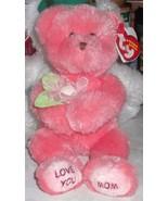 LOVE U MOM Ty Beanie Baby - $11.29