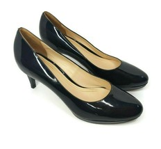Cole Haan Womens 9.5 Nke Air Black Patent Leather Pumps Heels D38242 - $36.62