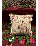 Making Spirits Bright Pincushion Kit christmas cross stitch kit Shepherd... - $30.00
