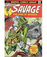 Doc Savage Comic Book #4, Marvel Comics 1973 NEAR MINT - $17.34