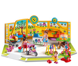 PLAYMOBIL Baby Store Action Figure Playset Indoor Kids Play Pretend Acti... - $44.50