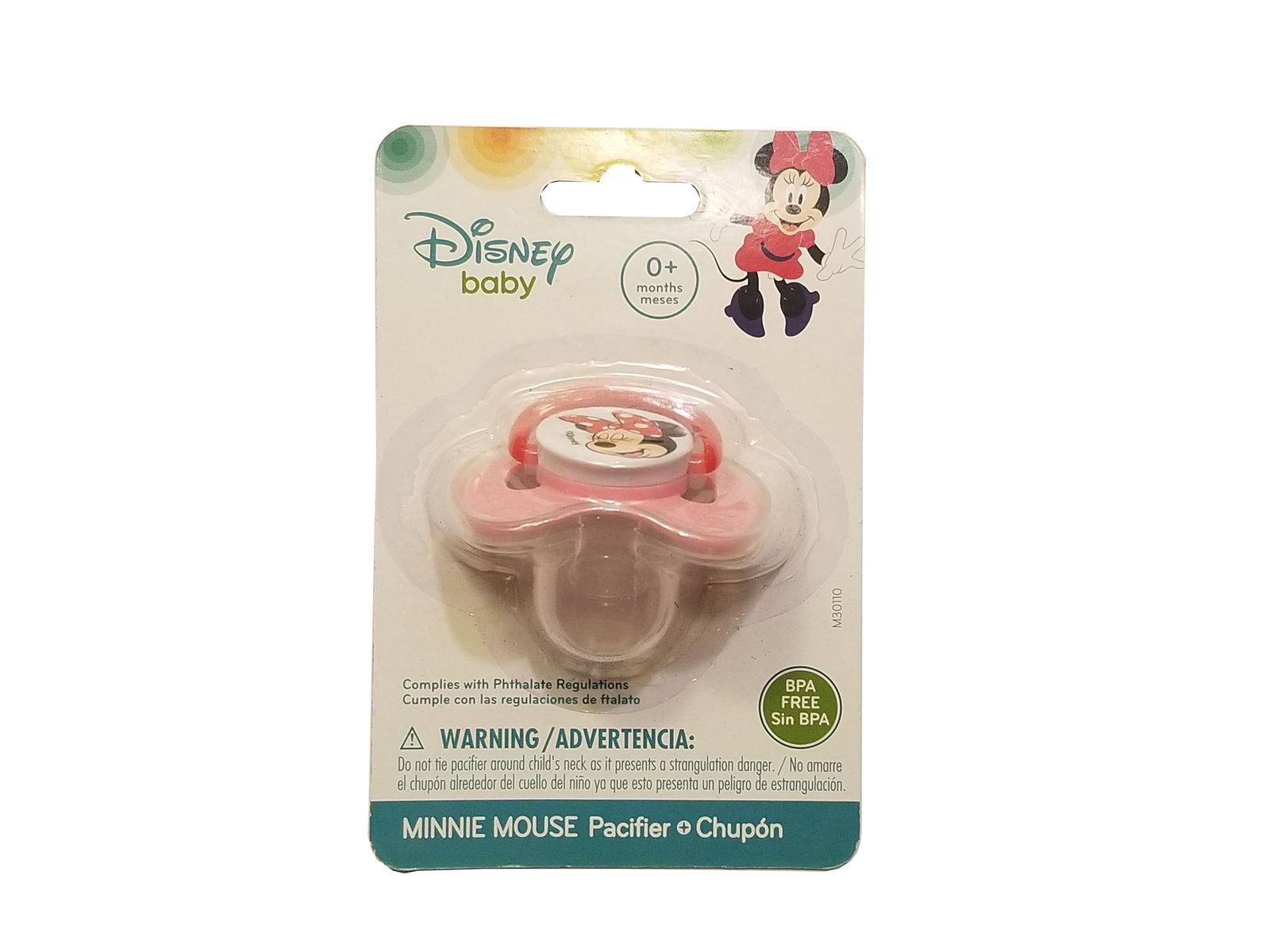 Minnie mouse pacifier