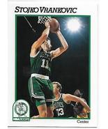 1991-92 Hoops #341 Stojko Vrankovic NM-MT Celtics - $0.99