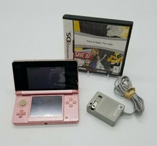 Nintendo 3DS Handheld Console Pearl Pink System with Charger Price is Right Game - $108.78
