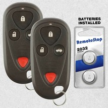 2 For 2004 2005 2006 2007 2008 Acura TSX Keyless Entry Car Remote Key Fob - $32.62