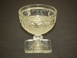 Old Vintage Traditional Clear by Imperial Glass Ohio Champagne Tall Sherbet Dish - $9.89