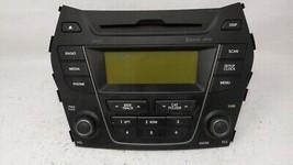 2013-2014 Hyundai Santa Fe Am Fm Cd Player Radio Receiver 80653 - $81.84