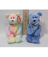 Ty Beanie Babies Stuffed Animals Teddy Bear Clubby II 1999 Groovy 1999 L... - $12.86