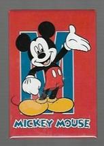 Mickey Mouse Red Rectangular Souvenir Magnet from Walt Disney World - $5.48