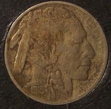 1915 Buffalo Nickel VF #0144 - $11.99