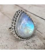 Moonstone Drop Ring - $24.00