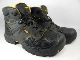 Keen Logandale Sz US 12 2E WIDE EU 46 Men's WP Steel Toe Work Boots 1017... - €70,17 EUR