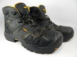 Keen Logandale Sz US 12 2E WIDE EU 46 Men's WP Steel Toe Work Boots 1017... - $103.95 CAD