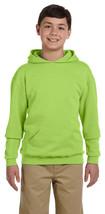 Jerzees Youth Fleece Pullover Hoodies - 996Y - Neon Green - $17.20 CAD
