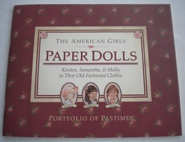 American Girls Paper Dolls - $9.00