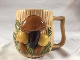 Vintage Arnel's Mushroom Ceramic Coffee Mug Cup - $24.12