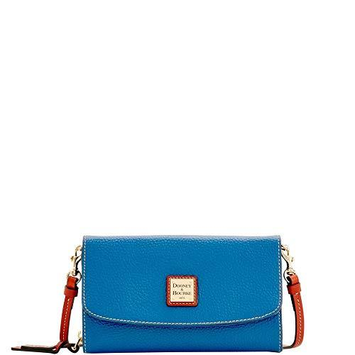 Dooney & Bourke Wallet Clutch Crossbody Persian Blue