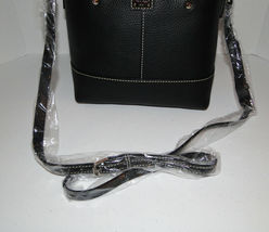 Dooney & Bourke MINI CHELSEA Pebble Crossbody Black NWT image 9