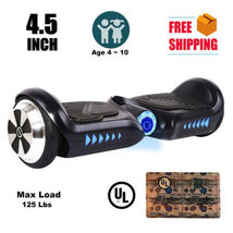 "4.5"" mini black hoverboard two wheel balance scooter UL2272 for children - $224.00"