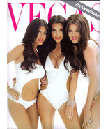 KOURTNEY KIM KHLOE KARDASHIAN Sisters Mad Dash World - Vegas Magazine 2010 - $14.95