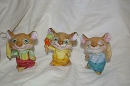 Homco Mice Figurines 5601 Vintage Home Interiors - $9.99