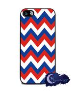 Patriot Chevron Stripe - iPhone 5 or 5s Slim Case, Cell Cover - Red, White, Blue - $15.99