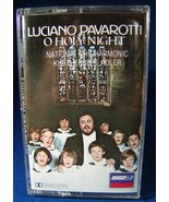 Pavarotti O Holy Night Cassette-National Philha... - $3.99