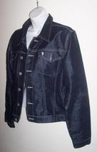 U.S. Polo Dark Blue Denim Jacket Ladies Large image 5