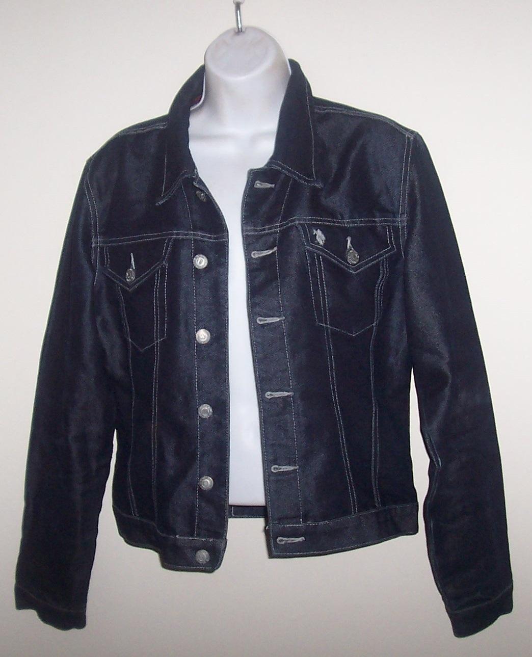 U.S. Polo Dark Blue Denim Jacket Ladies Large