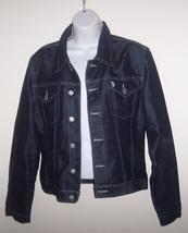 U.S. Polo Dark Blue Denim Jacket Ladies Large image 1