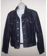 U.S. Polo Dark Blue Denim Jacket Ladies Large - $26.00