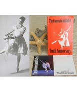 Connecticut ballet 10th tenth anniversary season program 1982 thumbtall