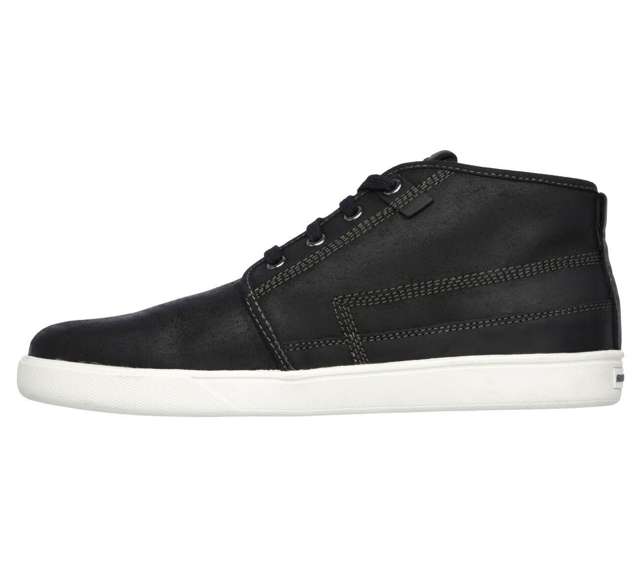 Men's SKECHERS ClassicFIT: Venice Macklin Casual Shoe, 64875 BLK Mult Sizes Blac