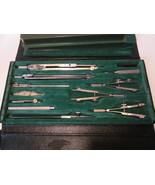 Vintage Gramercy German Drafting Set 12 piece including lead capsule - $69.99