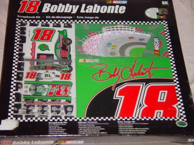 Bobby Labonte 18 Nascar Scrapbook Kit