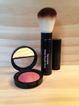 Laura Geller Baked Brulee Luminous Blush Cassis Violet with Retractable Brush - $14.99