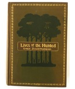 Lives of the Hunted Ernest Seton Thompson book 1st edition 1901 animals ... - $75.00