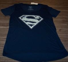Women's Teen Dc Comics Superman T-shirt Small New w/ Tag - $19.80