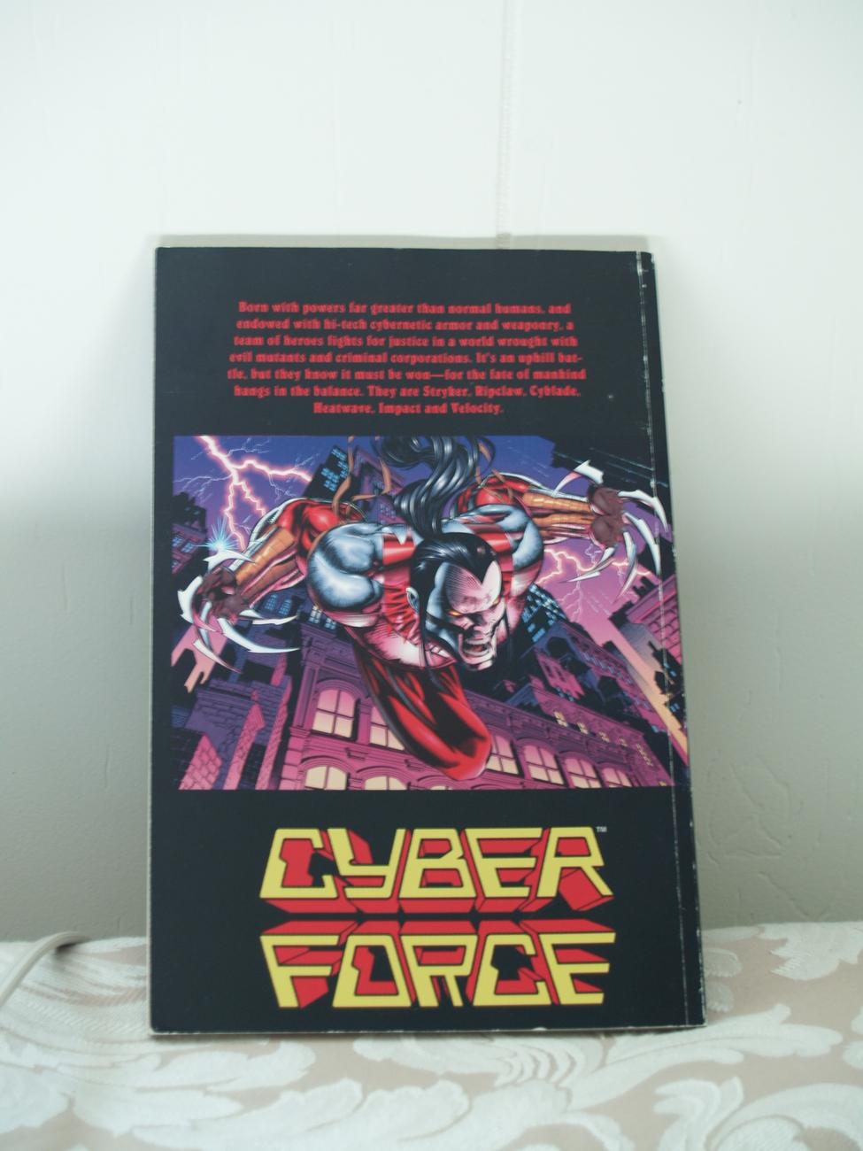 Cyberforce: The Tin Men of War Comic Book