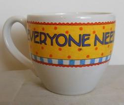 "Vintage Mary Engelbreit Mug / Cup  3"" ""Everyone Need Their Own Spot"" - $15.00"