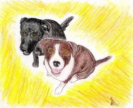 8x10 Custom Pet Dog Puppy Portraits Kat-Renee Kittel image 6