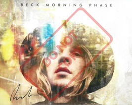 8.5x11 Autographed Signed Reprint RP Photo Beck (Morning Phase) - $12.50