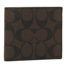 *NWT* COACH MEN'S COIN SIGNATURE CANVAS PVC WAL... - $69.29