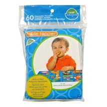 Neat Solutions Neat-Ware Table Topper Disposable Stick [60 Count] [10029... - $10.98
