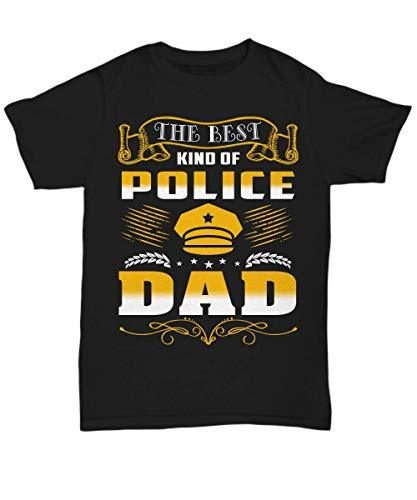Police Dad Shirt Funny Tee Birthday Gifts from Daughter and Son for Men Daddy Pa