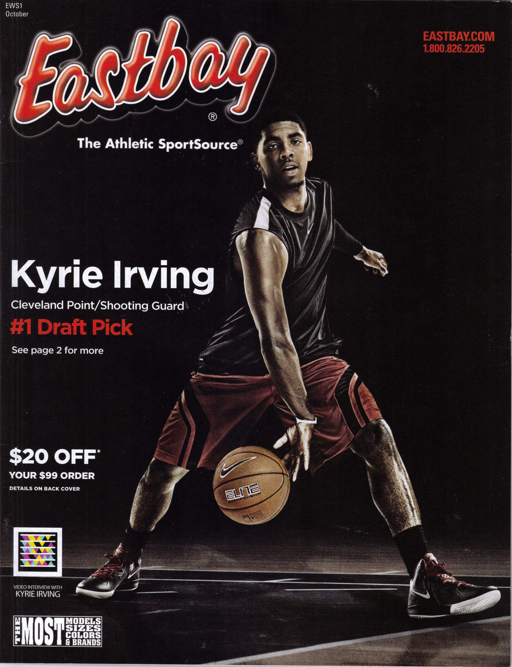 KYRIE IRVING @ EASTBAY Catalog, New
