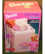 Barbie 1992 Spin Pretty Washer New In Box - $30.99