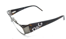New Dolce and Gabbana Eyeglasses D&G 5037 Brown 090 authentic 50-16-135 - $116.83
