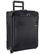 Briggs & Riley Baseline International Carry-On Wide Body Upright, Black,... - $526.71