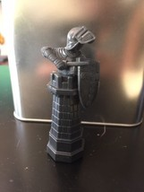 Harry Potter Wizard Chess Replacement Piece 2002 Black Rook - $5.93